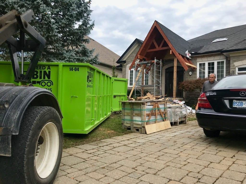 14 Yard Disposal Bin