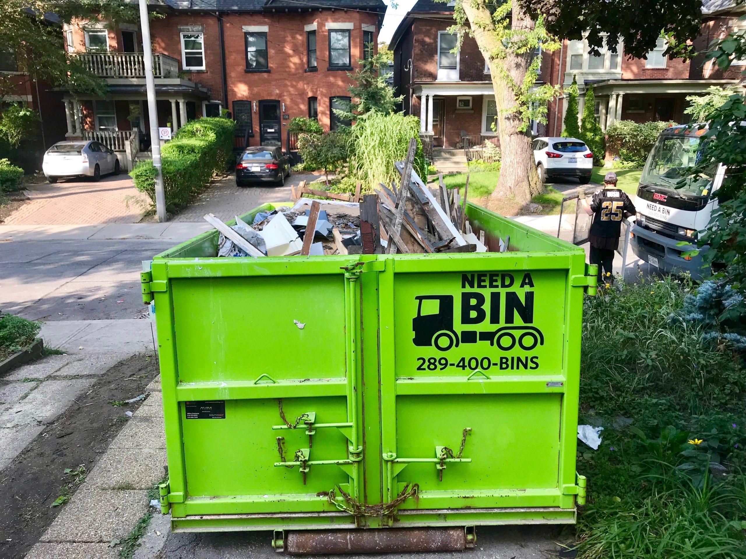 Mixed Garbage Disposal Bin