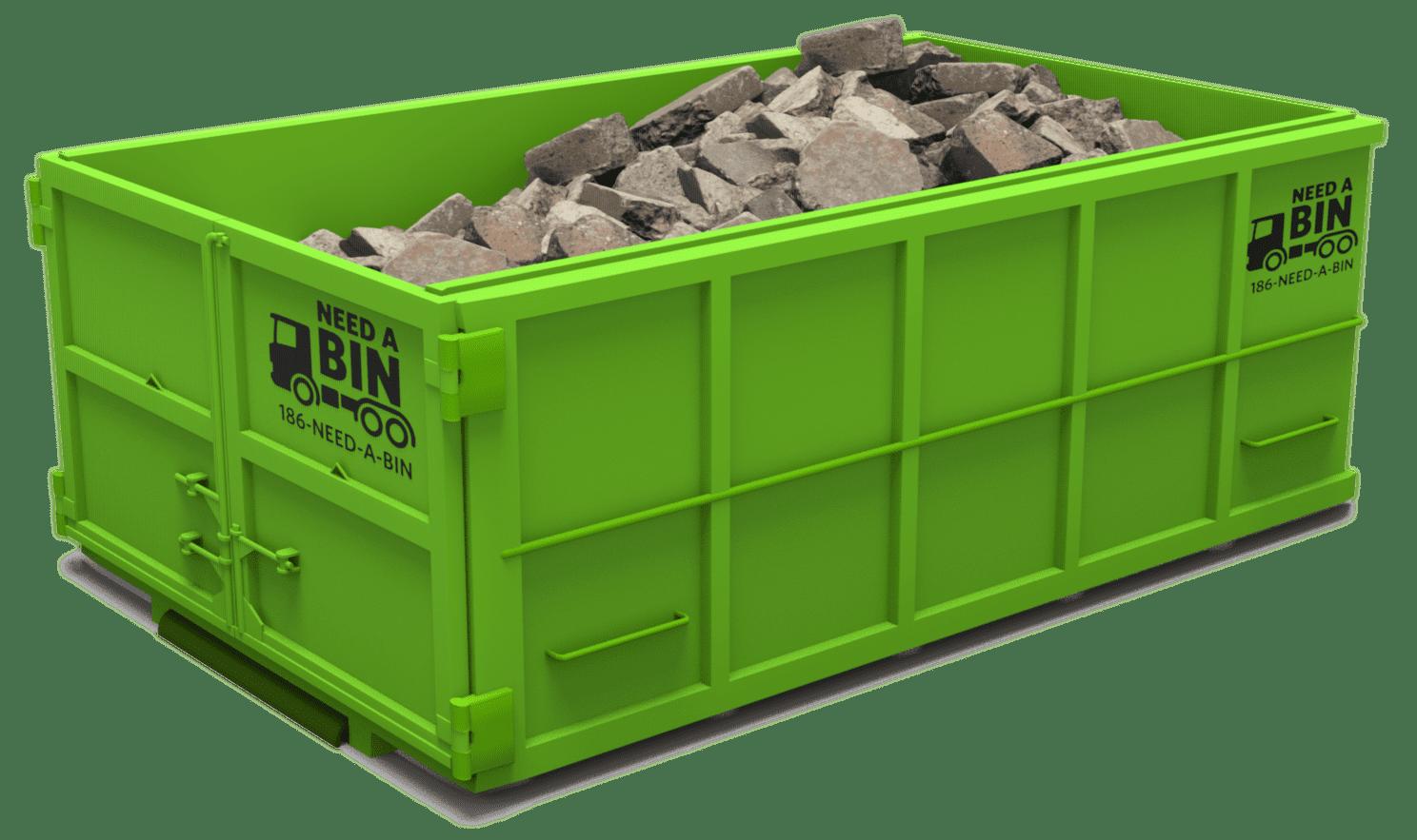 Affordable Concrete Bin Rental Service