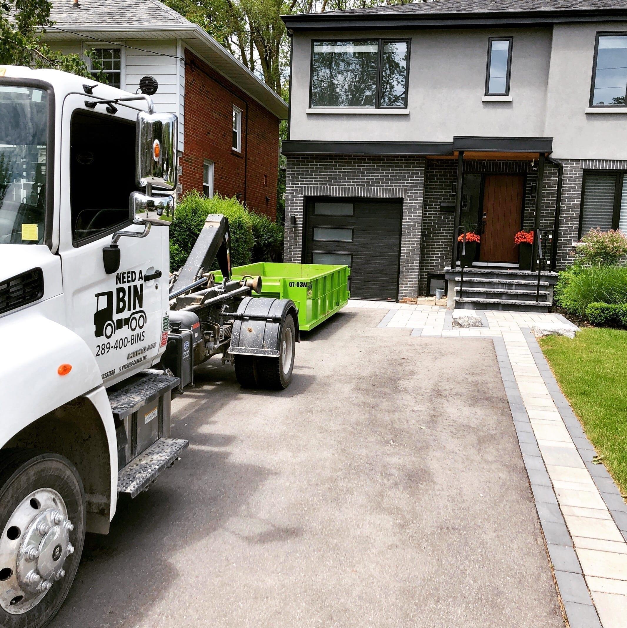 Concrete Bin Rental Newmarket